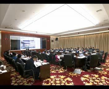 市城乡规划委员会召开2019年第八次会议