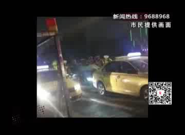宿迁一男子在市区伤人逃跑 途中连撞数车后被抓