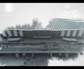 徐宿淮盐铁路本月16号开通运行 叶脉飞动 宿迁站尽显楚汉文化特色
