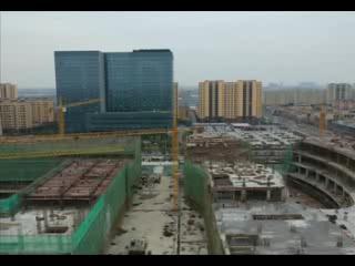 重点工程复工进行时 中心城市重点工程复工率100%